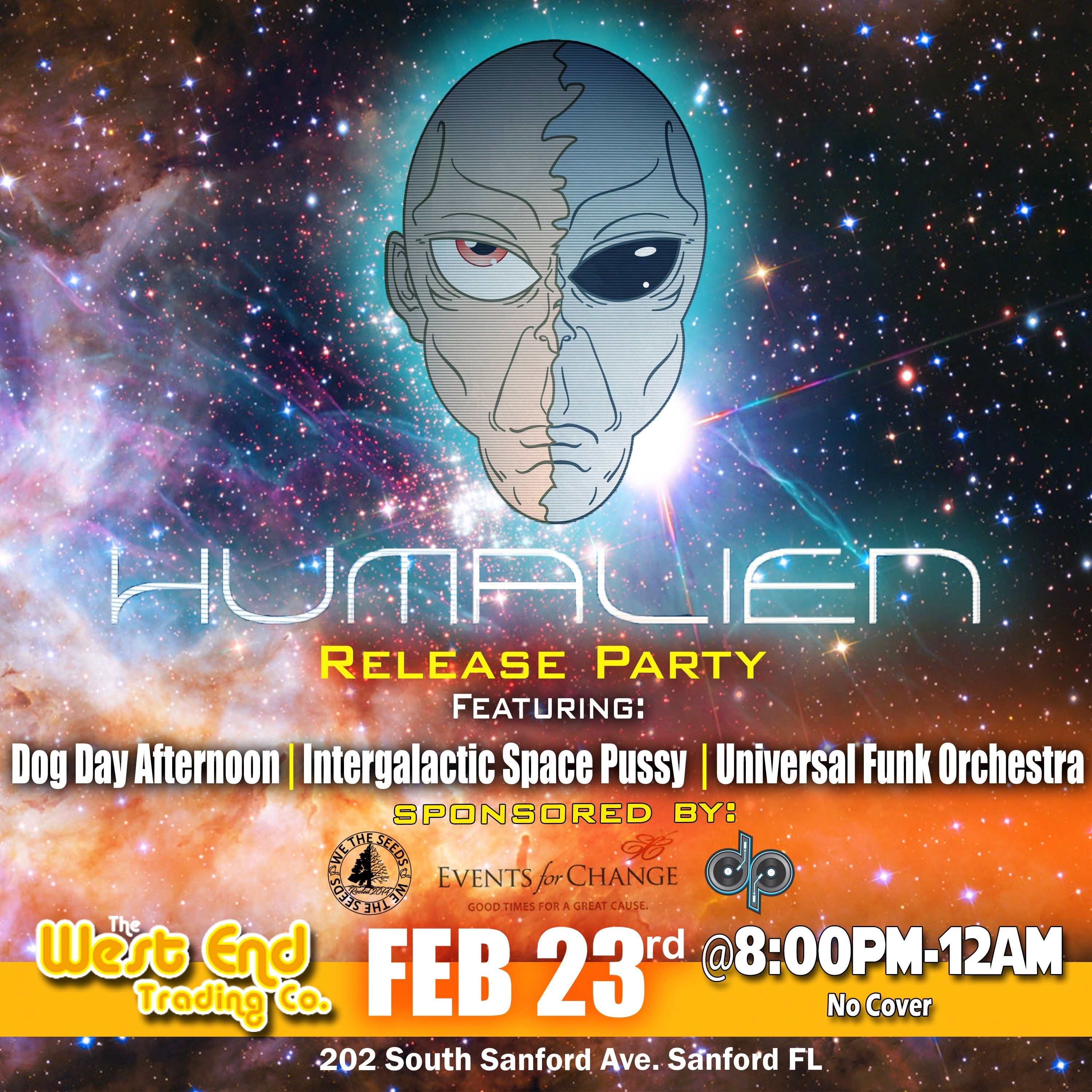 """""""HUMALIEN"""" Launch Party"""